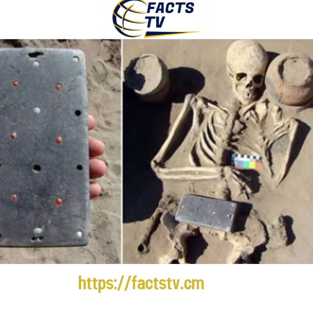 Archaeologists discover a 2100years iPhone, in a woman's grave