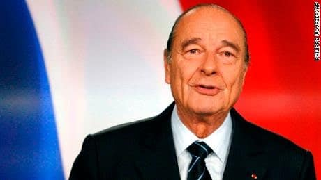 former French president, Jacques Chirac dies at 86