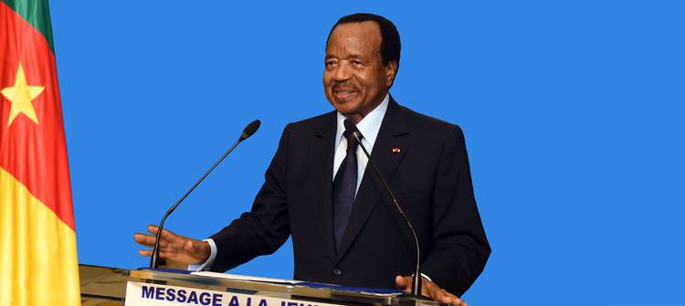 President Paul Biya encourages Cameroonian youths to join Youth Connekt