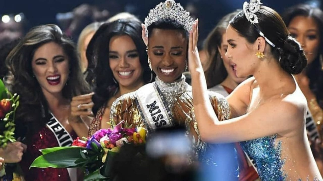 South Africa's Zozibini Tunzi wins Miss Universe 2019 beating more than 90 contestants