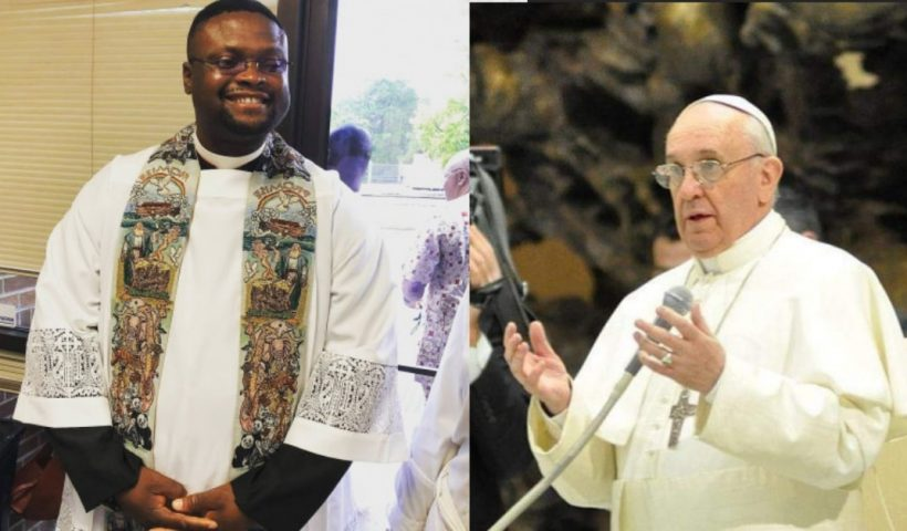 Rev Fr, Franklin Mmor writes an open letter to Pope Francis