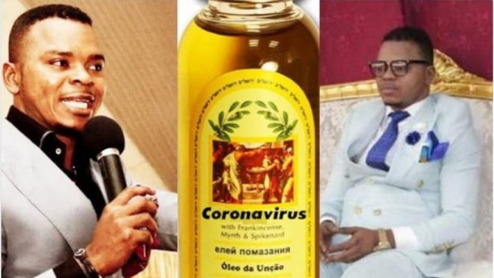 Pastor launches expensive holy oil to protect members against coronavirus: Controversial Ghanaian cleric Bishop Daniel Obinim of the International Godsway Ministries has done it again.