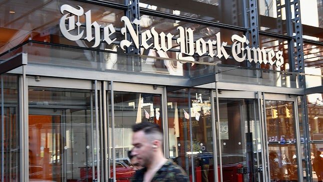 Trump campaign files libel suit against New York Times over Russia story