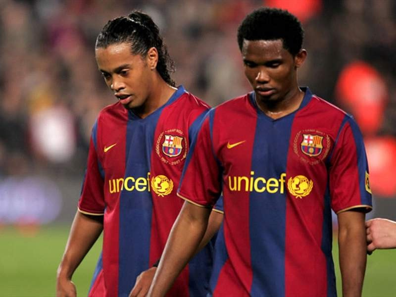 Read Samuel Eto'o's Emotional Message To Ronaldinho As He Celebrated His 40th Birthday In Jail