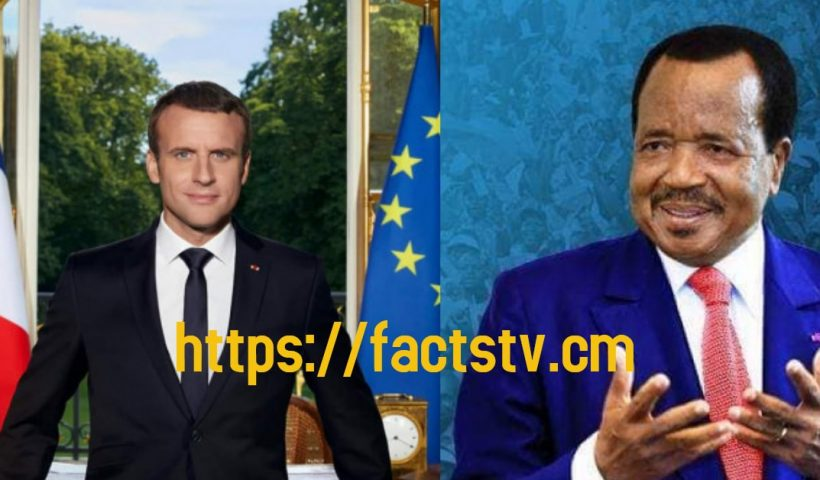 Emmanuel Macron Called President Paul Biya over the weekend