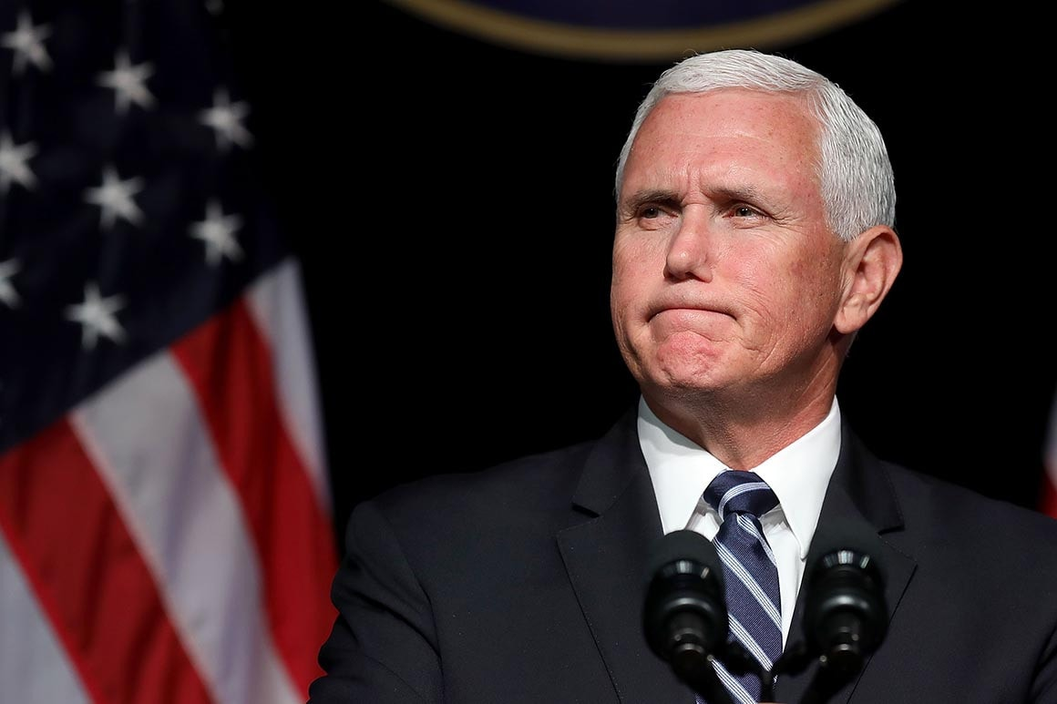 US Vice President Mike Pence says will be tested for coronavirus after aide tested positive