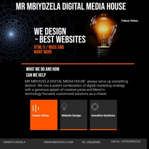 best website design company in cameroon