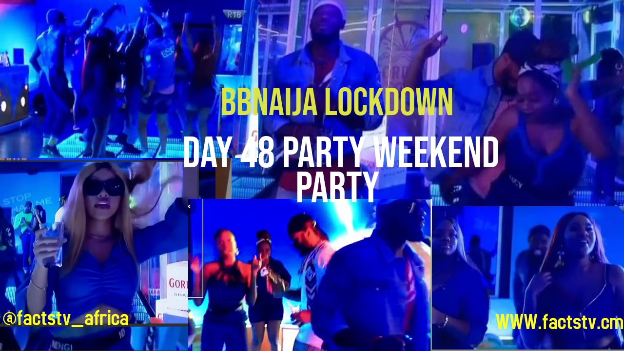 BBnaija Lockdown Day 48 party weekend party
