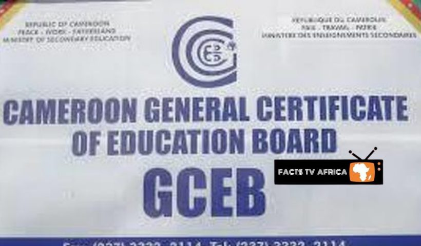 Cameroon GCE Results 2020