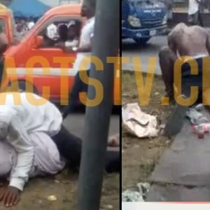 Man Filmed Having Sex With A Mad Woman Broad Daylight In Akwa Ibom (Video)