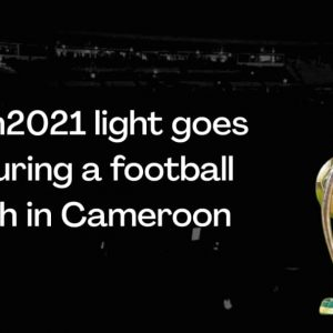 #chan2021 light goes off during a football Match in Cameroon (Video)