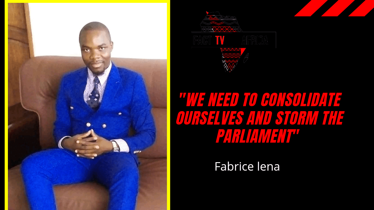 """""""We need to consolidate ourselves and storm the Parliament"""" Fabrice lena"""